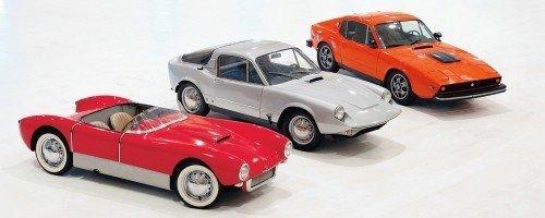All Three Saab Sonett Models