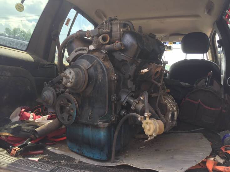 1972 Saab Sonett V4 Engine and Transmission For Sale in ...